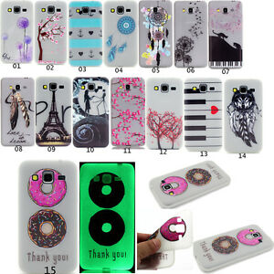 New-Luminous-Glow-in-The-Dark-Soft-TPU-Gel-Back-Case-Cover-For-Samsung-Phones