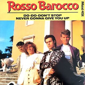 Rosso-Barocco-12-034-Do-Do-Don-039-t-Stop-France-EX-M