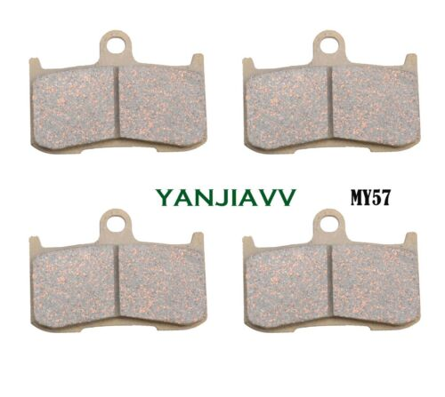 Front brake disc pads for KAWASAKI NINJA ZX9R Z1000 SUZUKI GSXR1300 B-KING