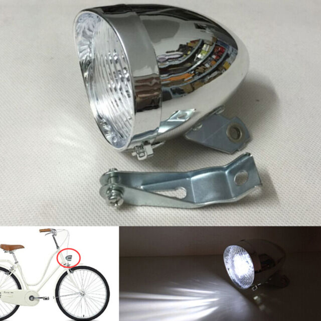 ebde3b2a3ea Frequently bought together. Bicycle Headlight 3 LED Retro Vintage Bike  Headlamp Front Light ...