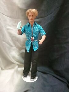Barbie Ken Doll Blonde Rooted Hair Blue Eyes Original Outfit