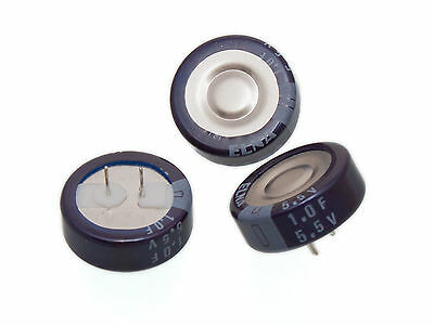 [10pcs] ELNA 1F 1 FARAD 5.5V SUPER Capacitor Dynacap DB GOLD CAP made in Japan