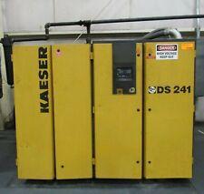 180 Hp Kaeser Model Ds241 Rotary Screw Air Compressor Yr 1999