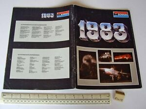 1983 Vintage Monogram USA Plastic Kit Catalogue - In French Language