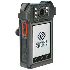 1080p Hd Body Worn Cctv Camera Forward Facing Screen Security Doorman Sia Police