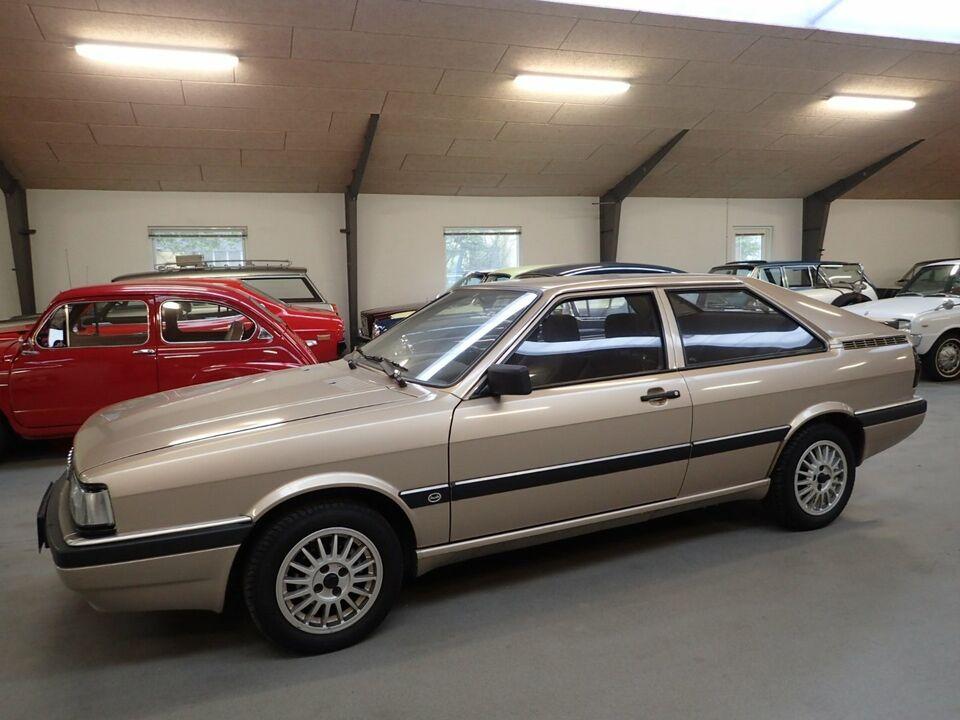 Audi Coupé GT 2,0 E Benzin modelår 1986 km 74000