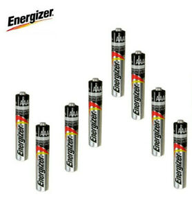 8 x Genuine Energizer AAAA E96 LR61 1.5V Mn2500 25A Alkaline Bulk Battery