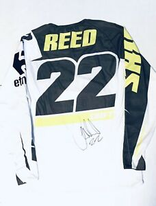 Details about Chad Reed Autographed Race Worn Shift Jersey TwoTwo Racing Pro Supercross #22
