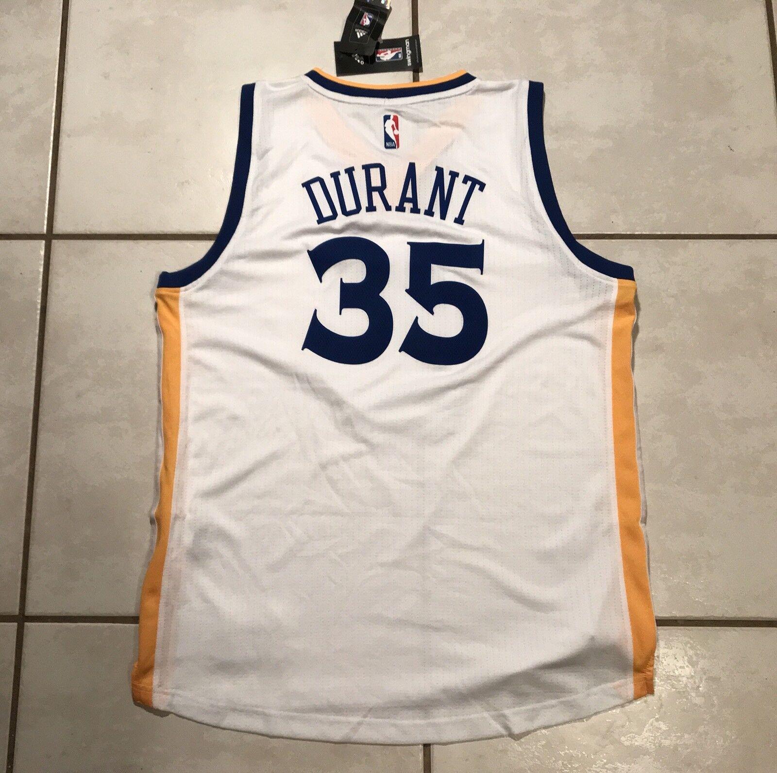 low priced b46c8 24c68 adidas NBA Golden State Warriors Kevin Durant Jersey Swingman L 35 White  Nike