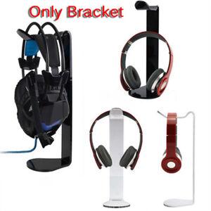 Acrylic-Headphone-Display-Stand-HolderUQack-Earphone-Headset-Hanger-Desk-UfYF