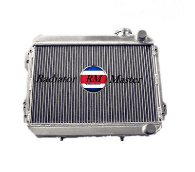 "12/""FAN All aluminum radiator for 1979-1983 Toyota Corolla AE71 72 SR5 A3 A4"