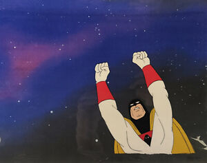 Space Ghost Original Production Cel Flying