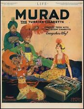 Murad Turksfull 1918 Life Turkish Cigarettes Advertising Poster 11x8 Inch Repro