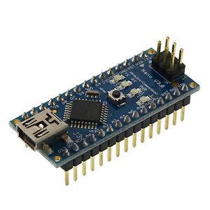 ATMEGA-5V-Micro-Controller-Board-Mini-USB-Compatible-fuer-Arduino-Nano-V3-0-T5