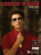 Locked Out of Heaven Sheet Music Piano Vocal Bruno Mars NEW 000115990