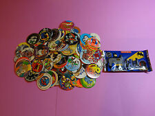 Pogs 120 Miscellaneous Variety + Batman Pack * Batman and Robin