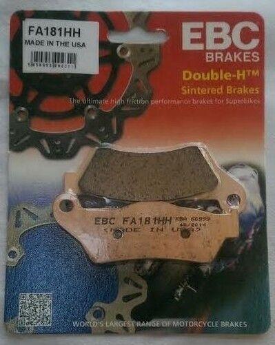 MOTO GUZZI 940 BELLAGIO (2007 to 2013) EBC pads frein arrière frittés (fa181hh)