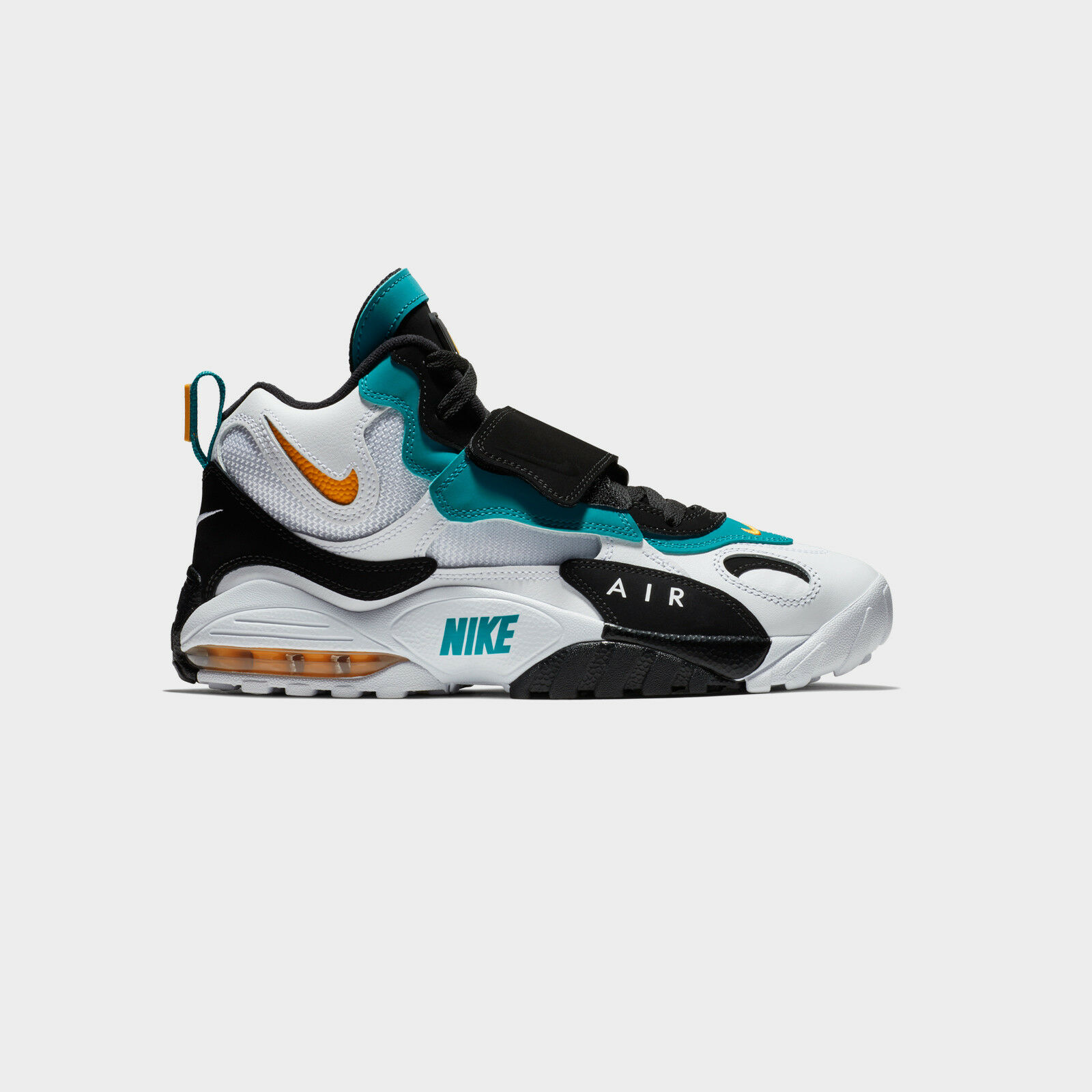 Nike Air Max Speed Turf sz 12.5 Miami Dolphins Teal orange Dan Marino 525225-100