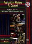 West African Rhythms for Drumset with CD (Audio) von Royal Hartigan (1997, Taschenbuch)