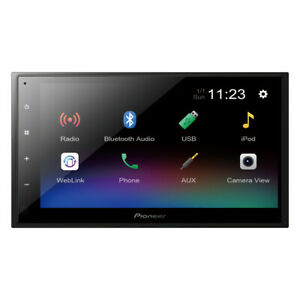 """Pioneer DMH-341EX 6.8"""" Capacitive Touchscreen Digital Media Receiver (Does Not"""