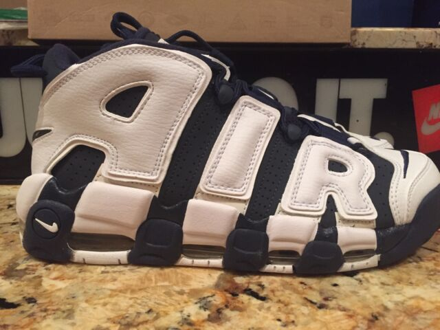 NIKE AIR MORE UPTEMPO SIZE 15 OLYMPIC PIPPEN DS 2012 HOH PE KICKS ON COURT NBA