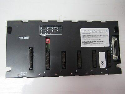 GE Fanuc IC693CHS398J PLC 5 Slot Expansion Base *Good Condition*