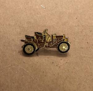 Lot Of (11) Antique Vintage Enamel Car Lapel Pins Red / Burgundy