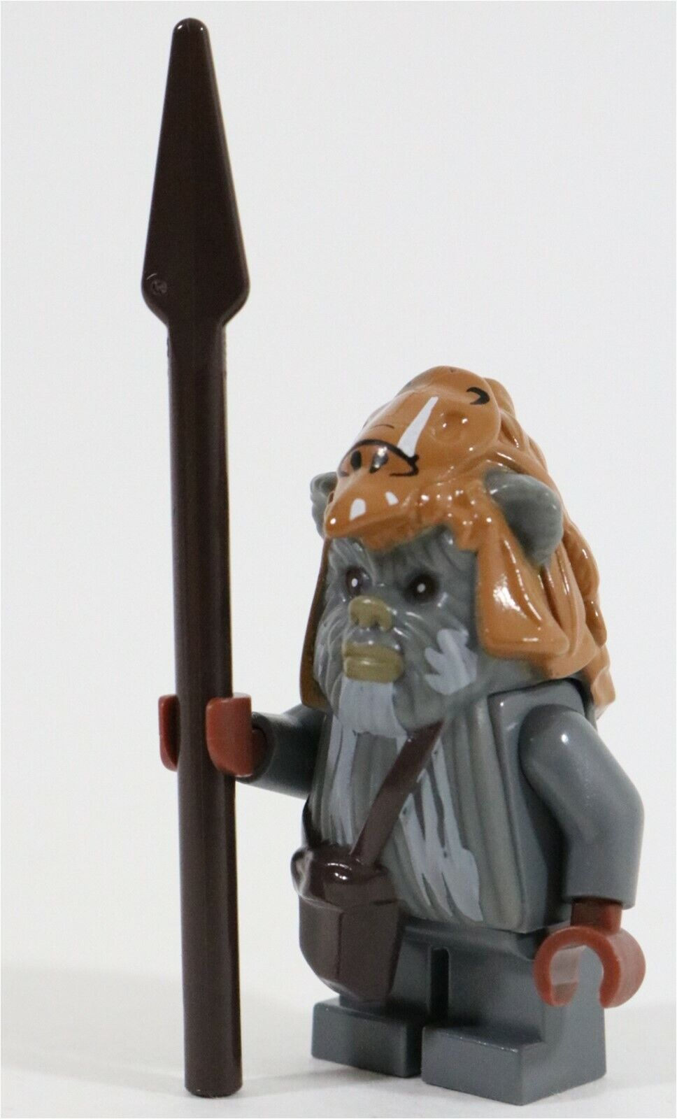NEW RARE LEGO STAR WARS TEEBO EWOK MINIFIGURE 10236 EWOK VILLAGE