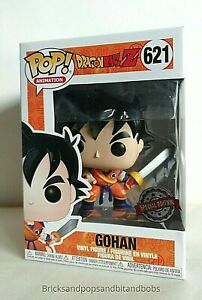 FUNKO-Pop-Animation-DRAGONBALL-Z-Young-Gohan-avec-epee-EXC-621-UK-Stock