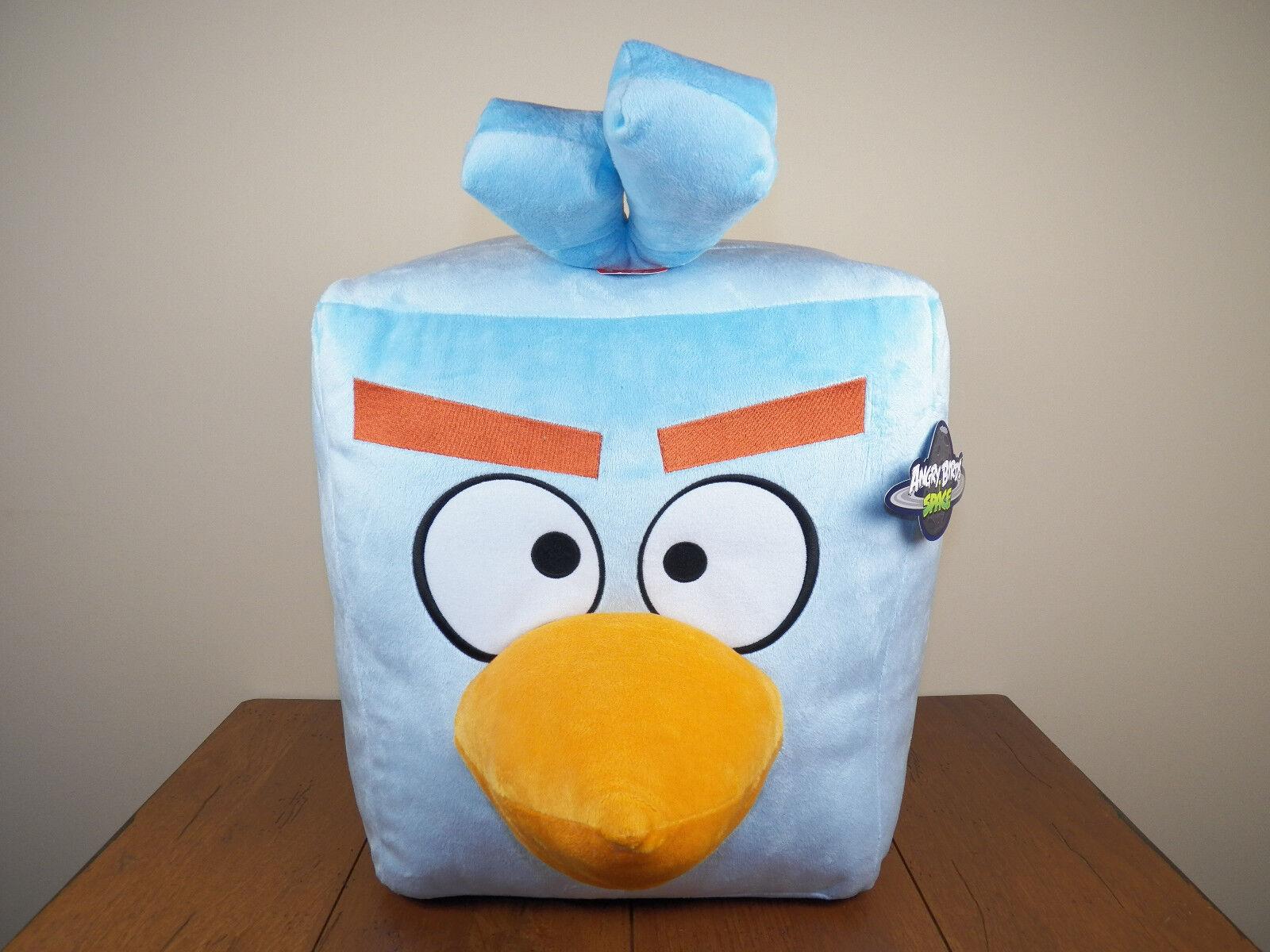 Angry Birds bluee Ice Bird 24  Plush Stuffed Animal Doll W  Sound NEW W  TAGS