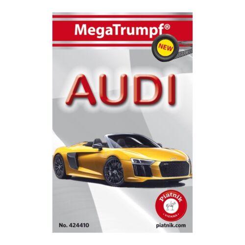 32 Karten MegaTrumpf® Quartett Audi 2018 Piatnik 424410