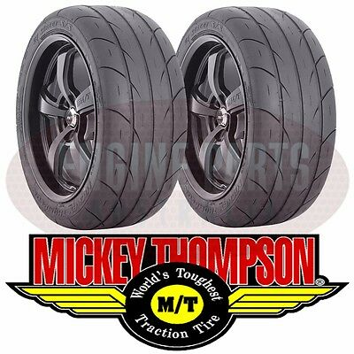 MICKEY THOMPSON ET STREET S/S RADIALS 255-60-15 255/60 R15 X 1 PAIR MT3452