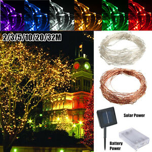 2-32M-LED-String-Copper-Wire-Fairy-Light-Solar-Bateria-Festival-Luz-Impermeable