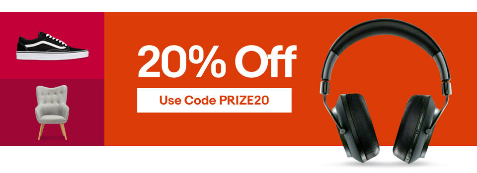 Use Code PRIZE20 - Can't Wait for Black Friday? Save 20% NOW
