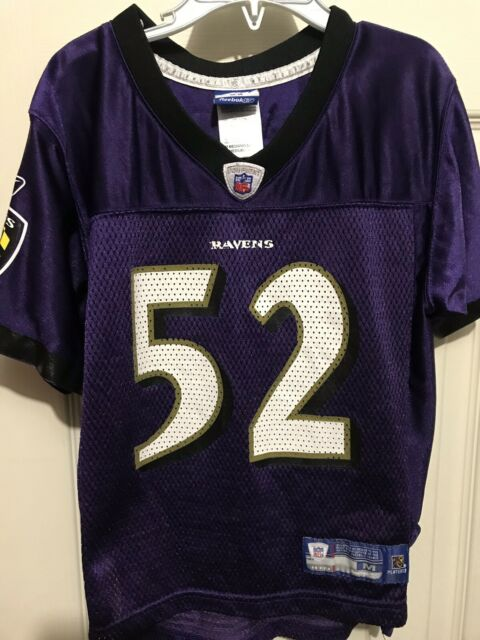 3847090a Ray Lewis Purple Reebok NFL Baltimore Ravens Jersey for sale online ...