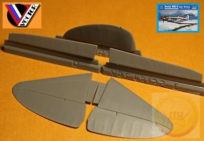 Vector Resin 1//48 scale Control Surfaces for the MiG-3 by Trumpeter VDS48122