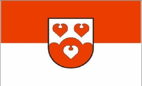 Fahne Flagge Lienen 20 x 30 cm Bootsflagge Premiumqualität