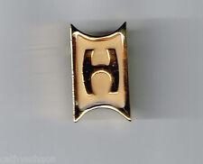 Vintage Designer signed Celebrity NY Initial Enamel Letter H Jewelry Brooch Pin