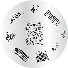 Konad stamping stencil m105 NAILART NUOVO