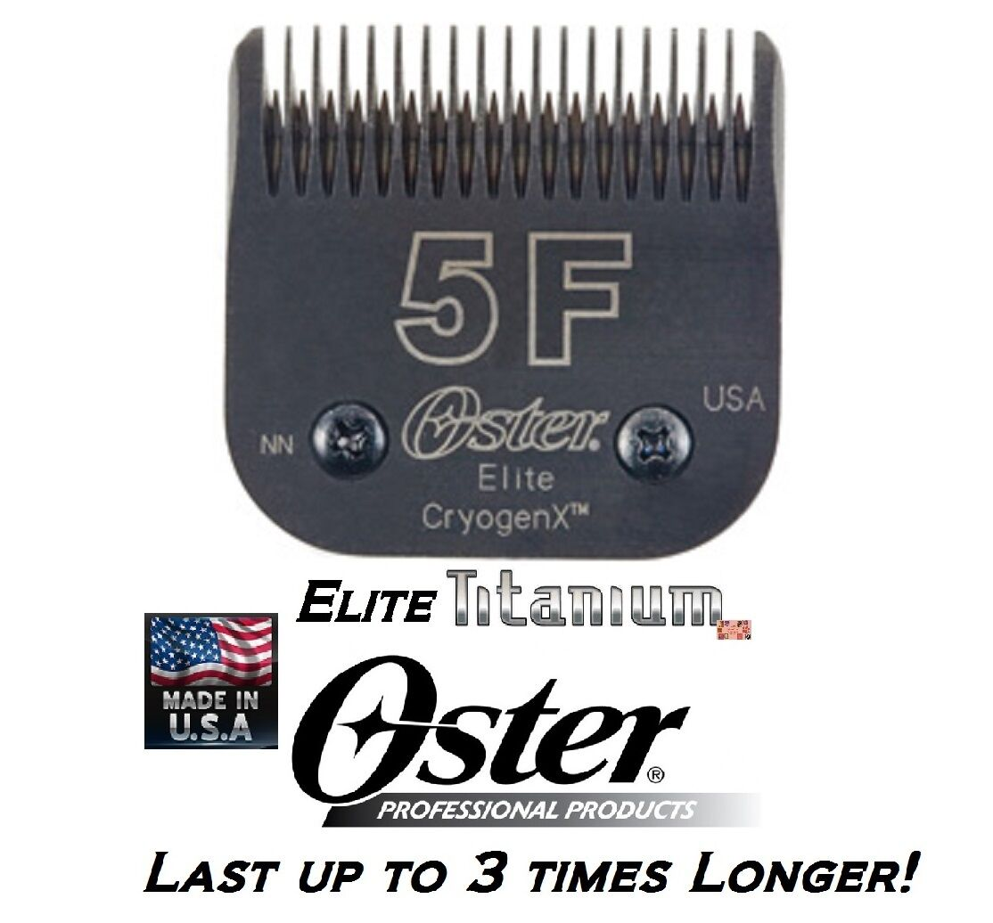 Oster A5 A6 ELITE TITANIUM 5F 5FC BLADEFit Most Andis,Wahl Clipper PET GROOMING