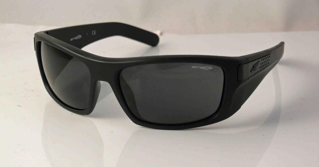 236edaea23 Arnette Two Bit Sunglasses Eyewear Matte Black Frame Grey Lens ...