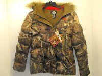 Mossy Oak Women's Break Up Hunting Jacket Infinity Size Medium 38-40