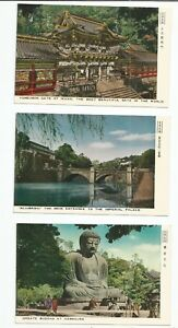 Wholesale-lot-of-7-Japan-Post-Cards-Free-Shipping-World-wide