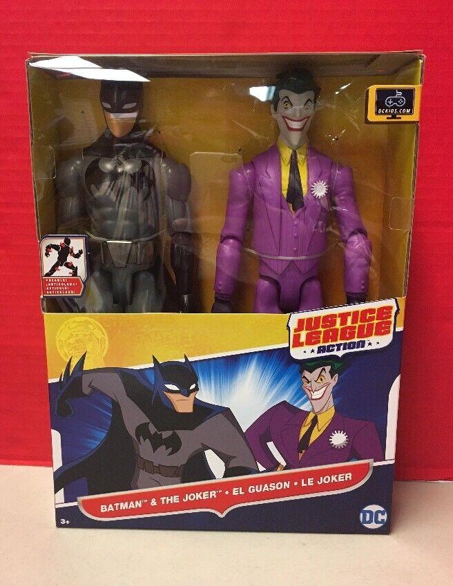 DC Comics Justice League Action Batman And Joker Mattel Action Figures MIB