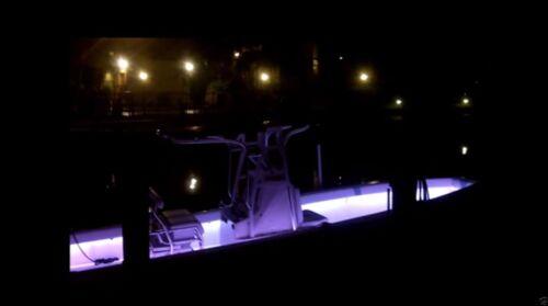 4x White LED Boat Lights Kit Waterproof Pod Bright LED Marine Interior Deck ADV