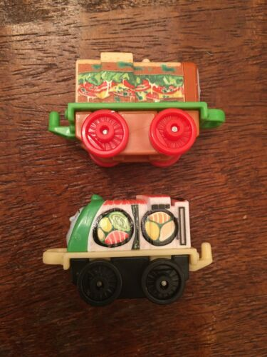 Thomas and Friends Train Food Minis Lot of 2 Sandwich Salty Sushi Spencer