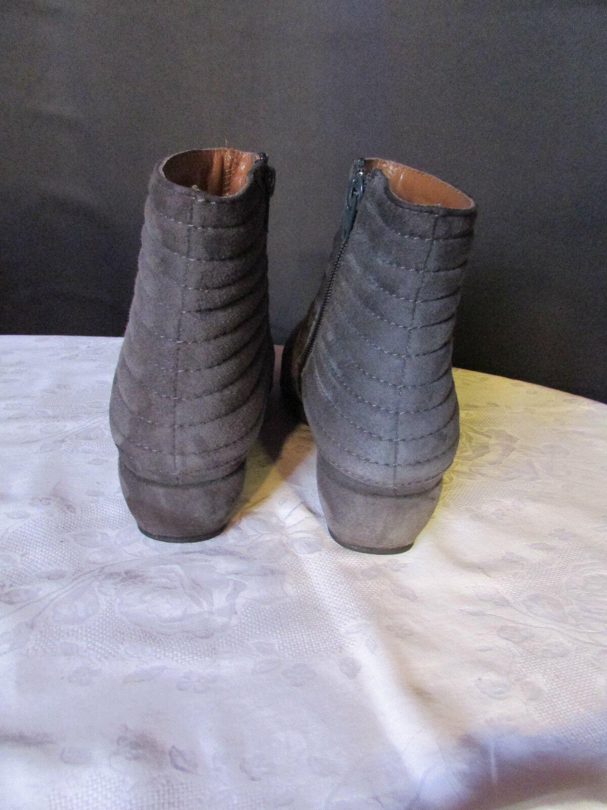 Boots bottines accessires diffusion daim daim daim anthracite 38 83962f
