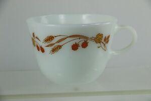 Vintage Harvest Home Wheat & Berries Coffee Cup Mug Pyrex