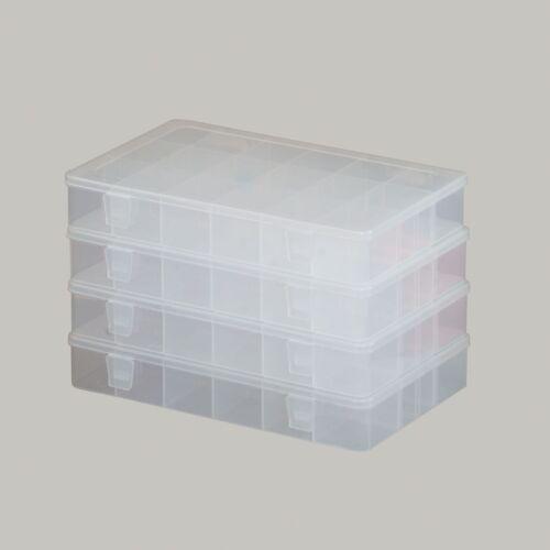 4 x Tackle Box Gerätetasche Anglertasche Tasche inkl Spinnertasche Modell M