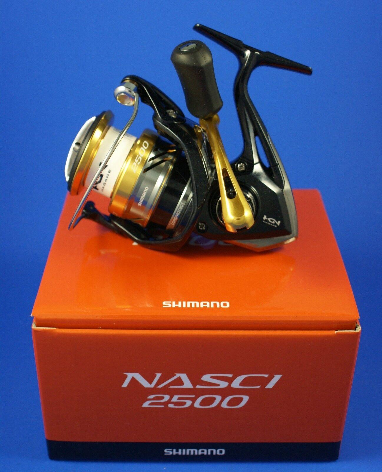 Shimano NAS2500FB Nasci 2500 FB       Cocherete de pesca de arrastre frontal